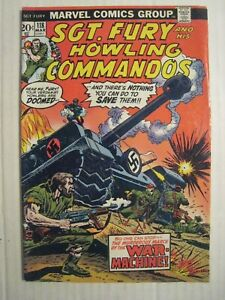 1974 Marvel Comic Book; #118; Sgt. Fury & His Howling Commandos - Against Hitler