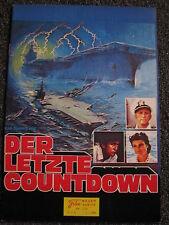 Neuer Filmkurier-Nr.276-Der letzte Countdown-Kirk Douglas-Martin Sheen-Austria