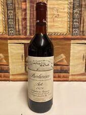 Vino 1979 Barbaresco Asili Ceretto 13,5% 75cl Rosso Chiaro