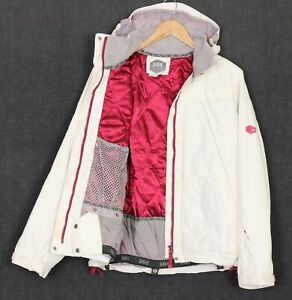 HELLY HANSEN HELLY TECH Filled Waterproof Hooded Ski Jacket Women Size M MJ2633