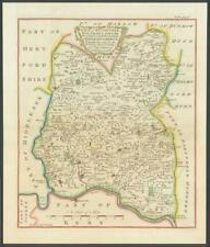 1768 ESSEX Map of BECONTREE WALTHAM ONGAR Hundreds Havering Liberty EPPING (46)