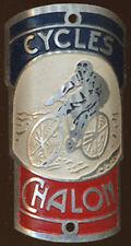 CYCLES VELO CHALON, cycliste, en aluminium peint