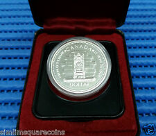 1952-1977 Canada Dollar Throne of the Senate QE II Silver Jubilee Silver Coin