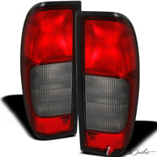 For 00-04 Frontier Replacement Original Red Smoke Tail Lights L+R