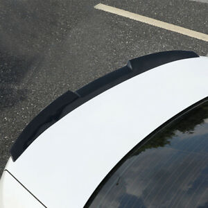 1.2M Gloss TPU Flexible Universal Rear Trunk Roof Spoiler Wing For All Cars