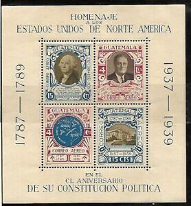 Guatemala: 1938; Scott C92 - C99, Mint and mint hinged, EBG006