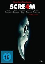 Scream 4 von Wes Craven   DVD   Zustand sehr gut