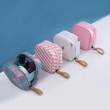 Lady Mini Travel Toiletry Storage Cosmetic Bag Beauty Zip Makeup Organizer Pouch