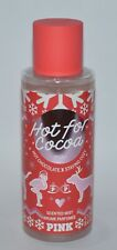 1 VICTORIA'S SECRET PINK HOT FOR COCOA SCENTED BODY MIST SPRAY CHOCOLATE COZY