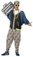 ADULT UNISEX 80's HIP HOP COSTUME MENS LADIES 80s MC HAMMER RAP STAR FANCY DRESS