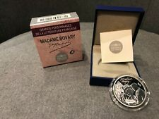"10 Euro 2013 BE Madame Bovary ""Grands Personnages Littérature Française"" Argent"