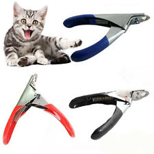 Pet Nail Clippers Claw Toe Paw Trimmer Scissor Grooming Tool for Dogs & Cats de