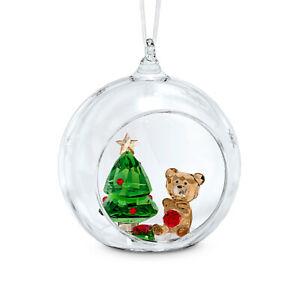 Swarovski Crystal BALL ORNAMENT, CHRISTMAS SCENE 5533942