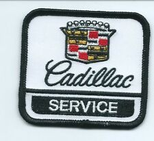 Cadillac Service Uniform patch 2-1/2 X 2-5/8 #1747