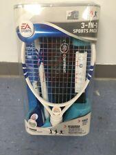 EA Sports 3-IN-1 Sports Pack for Wii Baseball Bat, Tennis Racket, Golf Club