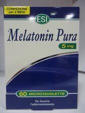 MELATONINa PURA 5 MG X 60 MICROTABLETS ESI PURE MELATONIN