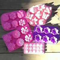 Spring Flower Silicone Mold Bakeware Pastry Pudding Jello Chocolate Candy Mould