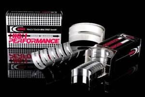 King Racing +.25MM Main + Rod Bearings For Subaru WRX Sti EJ20 EJ25 52MM #5 POS