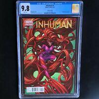 INHUMAN #1 (2014) 💥 CGC 9.8 💥 1:75 J Scott Campbell Variant! Medusa RARE