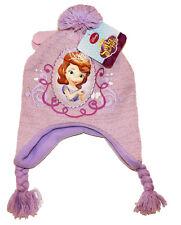 Disney Sofia The First Hat/Mittens Pastel Purple