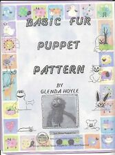 Make your own Wrap Around Puppet from Basic Fur Puppet Pattern-dog,monkey,bear..