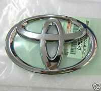 13 x 9 cm GENUINE FOR TOYOTA BADGE EMBLEM LOGO MODIFIED TO FRONT TRUNK TAILGATE