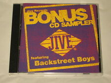 JIVE RECORDS - CD SAMPLER - BACKSTREET BOYS - BRITNEY SPEARS