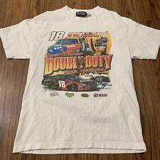Chase Kyle Busch Shirt Mens Large White Cotton NASCAR