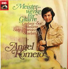 "ANGEL ROMERO œOEUVRES ARTISTIQUES POUR GUITARE GIULIANI SOR MUDARRA SANZ 12"" LP"