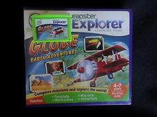 Leapfrog Leapster Explorer GLOBE EARTH ADVENTURE Game Leap Pad,2,3,GS,XDi Ultra