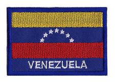 Patch écusson badge patche drapeau VENEZUELA 70 x 45 mm à coudre
