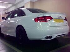 For Audi A4 B8 08-11 Rear Bumper diffuser dtm style S line lip S-Line spoiler S4