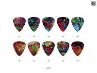 Watercolor Pattern Guitar Pick Set 1 (10pcs) BUY 2 SAME GET THE 3RD FREE