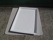 Large Shower Tray White Acrylic 1130mm x 670mm Caravan/Motorhome/Boat Wet Room