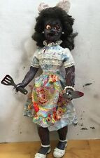 Zombie Doll OOAK Horror Stepford Wife Haunted Scary Halloween 31""