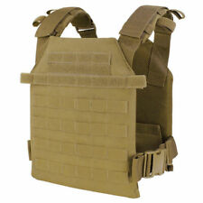 CONDOR Sentry Plate Carrier MOLLE Weste Tactical Military Coyote Brown