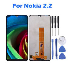 For Nokia 2.2 Black LCD Display Touch Screen Digitizer Assembly Replacement ARMG
