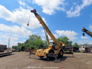 Grove RT-740 40 Ton 104' 4x4 Rough Terrain Crane Cab 32' Jib Cummins bidadoo