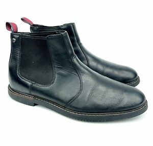 Timberland Earthkeepers Brook Park Mens Chelsea Black Leather Boots 5517A A1219