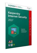 Kaspersky Internet Security 2017 - Box - Pack (1 Jahr)