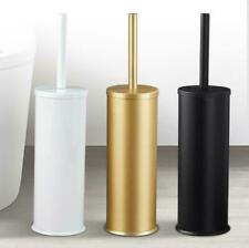 Toilet Brush Holder Set Bathroom WC Lavatory Cleaner Tool Storage Hanger Shelf