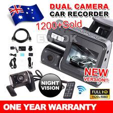 Dual Car Camera True HD 1080P G-sensor Recorder Crash Cam H 264 Dash DVR Video