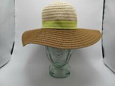Chattie's Tan Floppy Sun Hat Sun protection for Garden & Beach