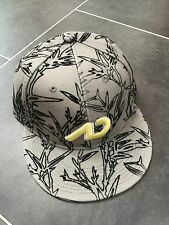 Nike departamento de atletismo Snapback Cap Hat Gris muestra Rara Vintage Vntg Talla M/L