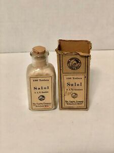 Old Homeopathic Medical Bottle Upjohn & Co.