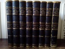 Rare Vintage Book Set Charles Dickens 1882 All Year Round