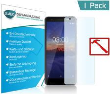 """Slabo PREMIUM Panzerglasfolie für Nokia 3.1 KLAR """"Tempered Glass"""" 9H"""