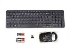 DELL KM713 Wireless Cordless Keyboard & Mouse Set Combo Kit SWISS Layout Ref