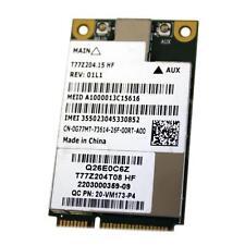 Dell DW5630 Qualcomm Gobi 3000 3G WWAN Mini PCI-e Wireless Card 0269Y G77MT