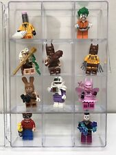 DISPLAY / Carrying Case - Perfect For LEGO Batman Movie Holds 12 Minifigures!